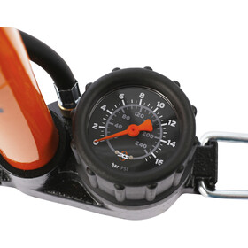 SKS Golvpump Standing Air Pump orange/black